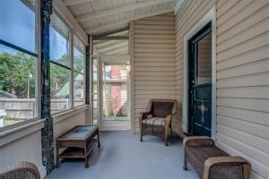 Montclair back porch