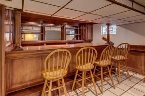 Birchwood basement bar