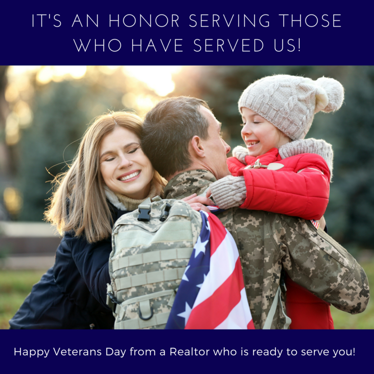 Thank you to those who have served!